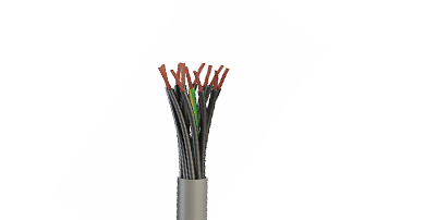 YY PVC Insulated and Sheathed Flexible Control Cable